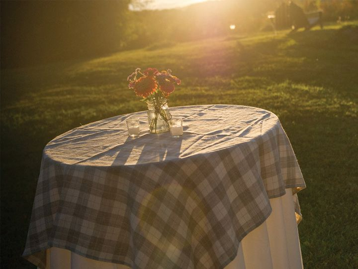 Tmx 1477668607338 246 Plaid Linen Overlay Rochester wedding rental