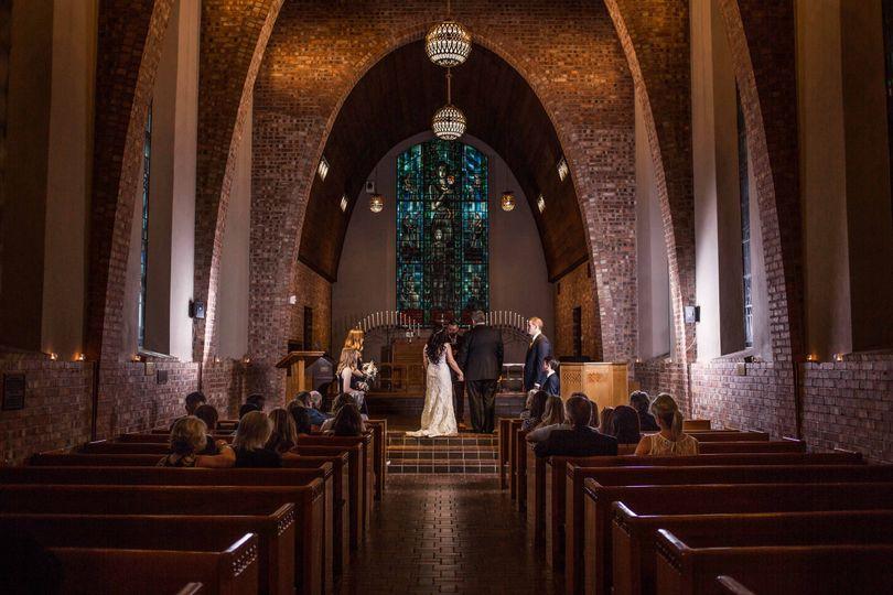 Dark Chapel Wedding