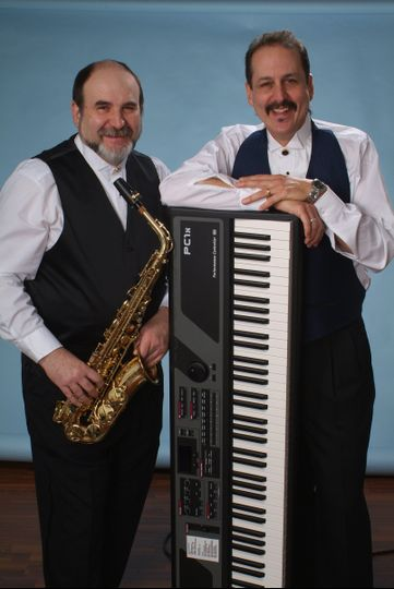 Stan with Steve on Alto Saxophone. Even better duo!