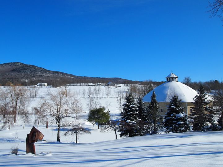 Winter at the Round Barn Farm