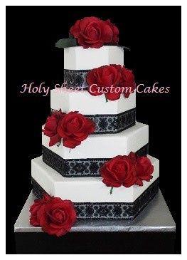 Holy Sheet Custom Cakes - Wedding Cake - Concord, NC - WeddingWire