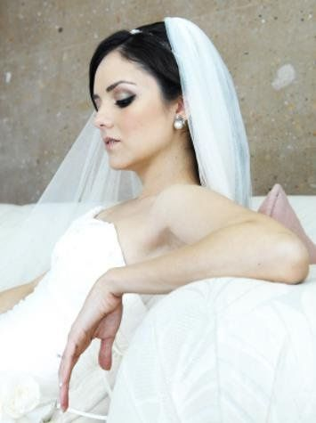 www.danielarodriguezbridalbeauty.com  Bridal hair and makeup #bridalhair #hairdo #updo #makeup...