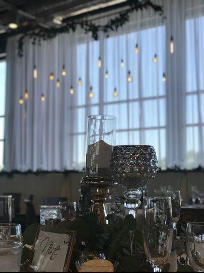 Head Table Edison Bulbs