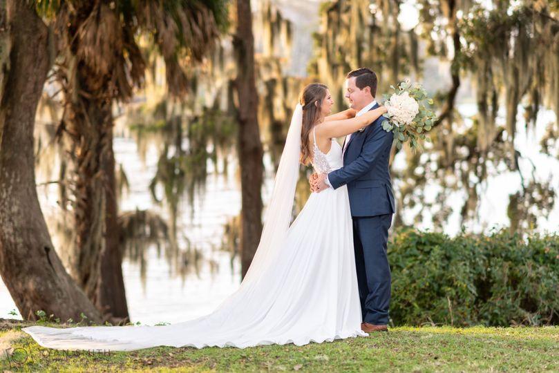 Wedding on Waccamaw River