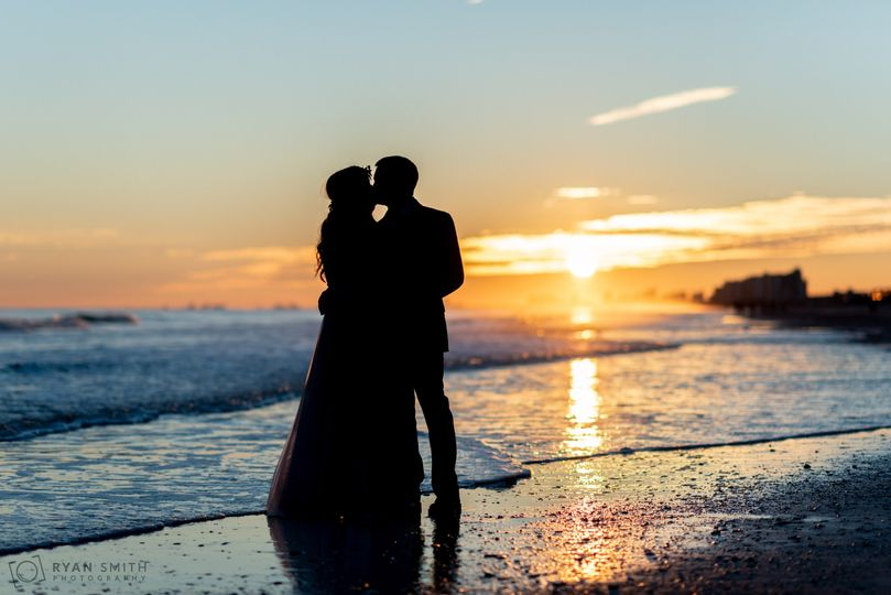 we got some great sunset silhouettes at my wedding today cherry grove 2018 51 174180 1555353109