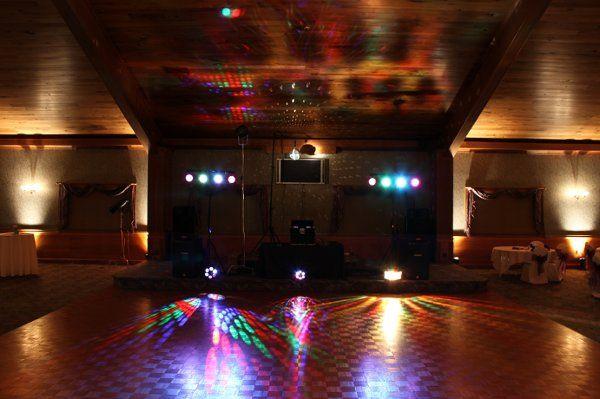 dance floor lighting