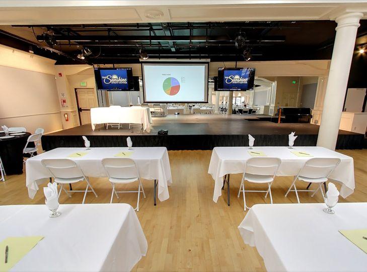 The sunshine event center venue elk grove ca for 701 salon sacramento