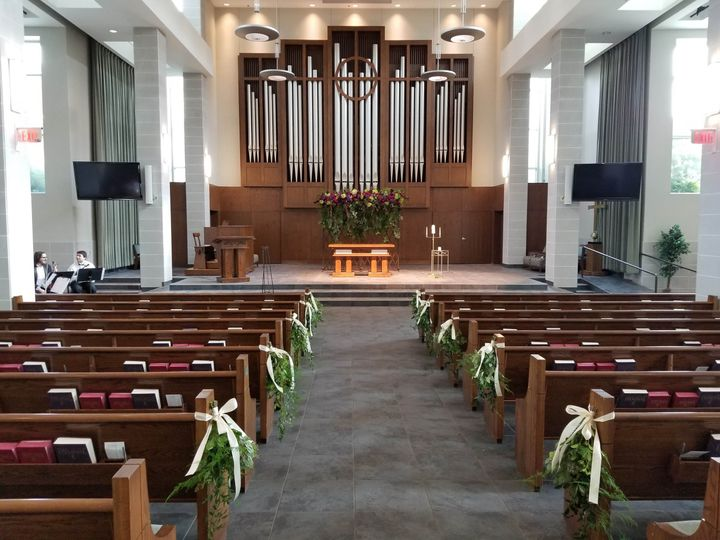Lovers Lane UMC wedding venue