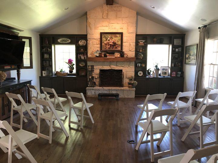 Living room turns into chapel
