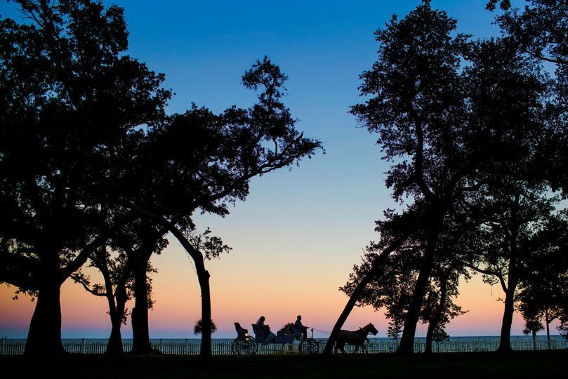 A sunset carriage ride (Photo by Chase Richardson)