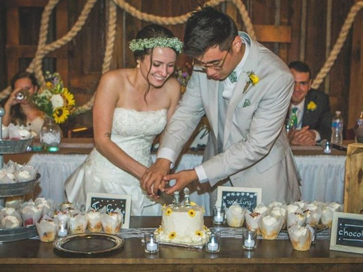 Tmx 1439402715380 Cutting The Cake Lockridge, IA wedding venue