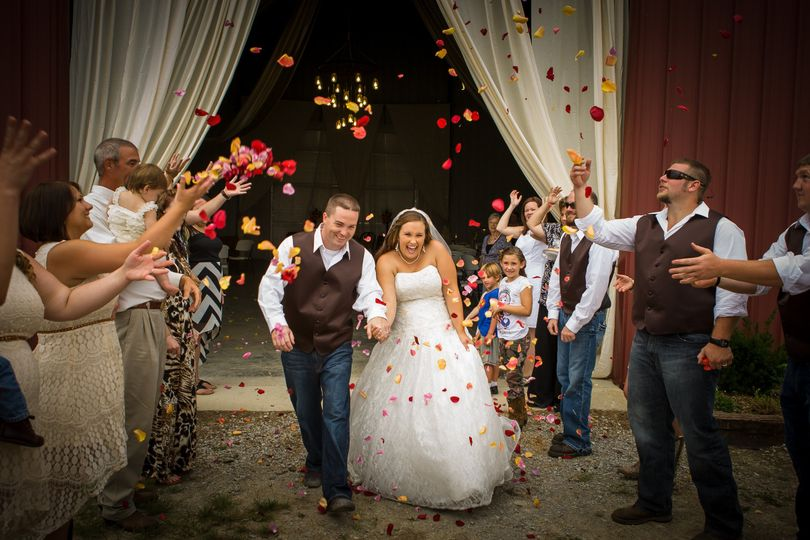 Couple's recessional