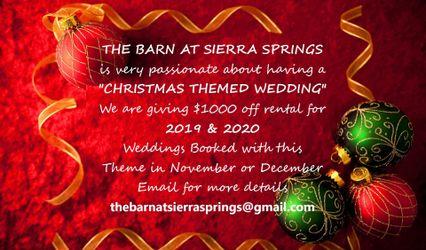 """""""THE BARN"""" at Sierra Springs 2"""