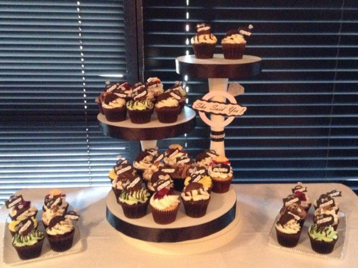 Tmx 1447942385372 Img8040 Manteca wedding cake