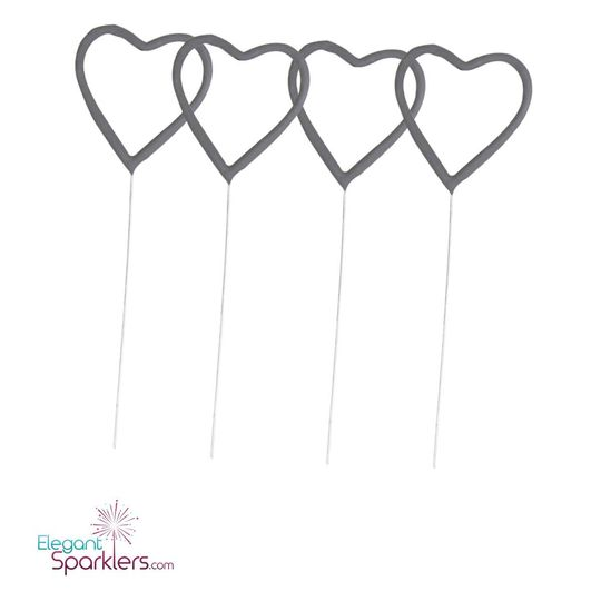 Our 12 inch large heart shaped sparklers are perfect for weddings, engagements, parties,...