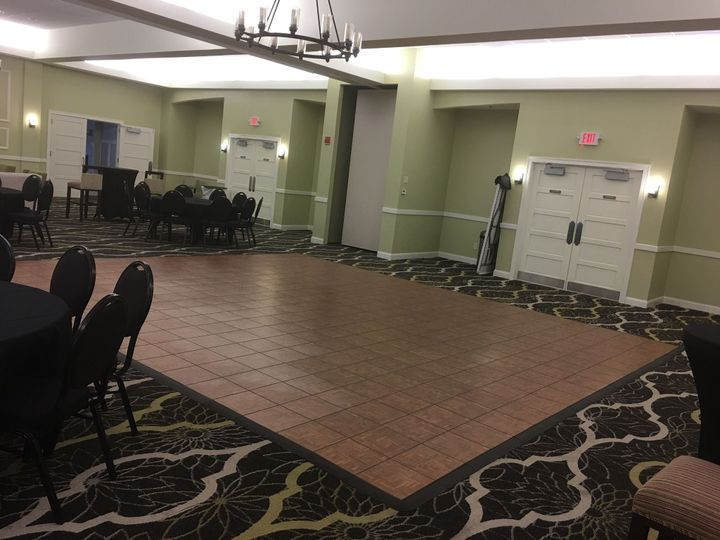 Indoor dance floor