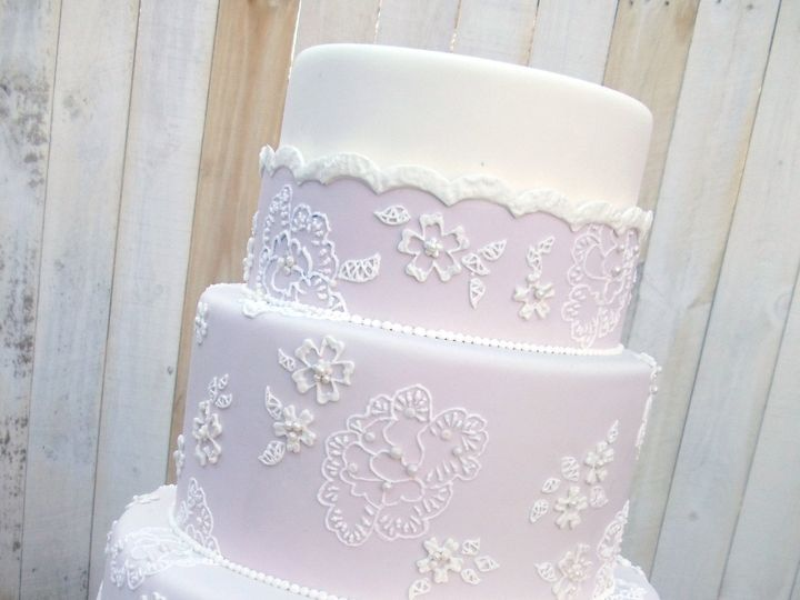 Tmx 1420230425149 Dusky Pink Detail Blue Springs wedding cake