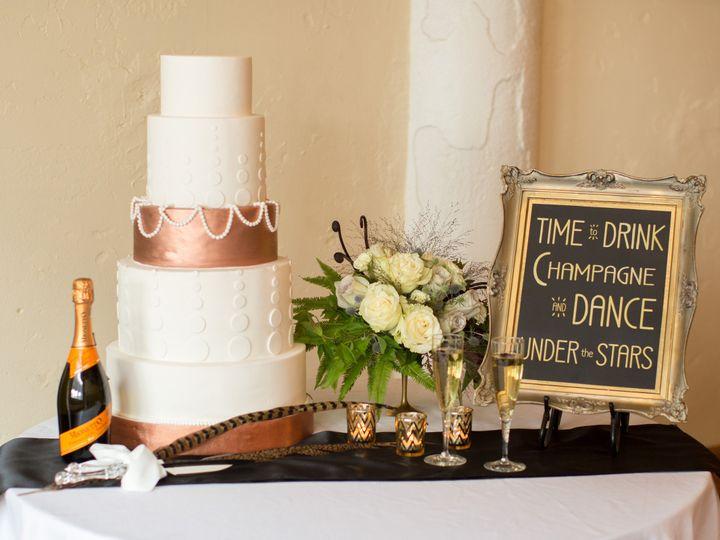 Tmx 1446480283362 Saramariephotographyartdeco 23 Blue Springs wedding cake