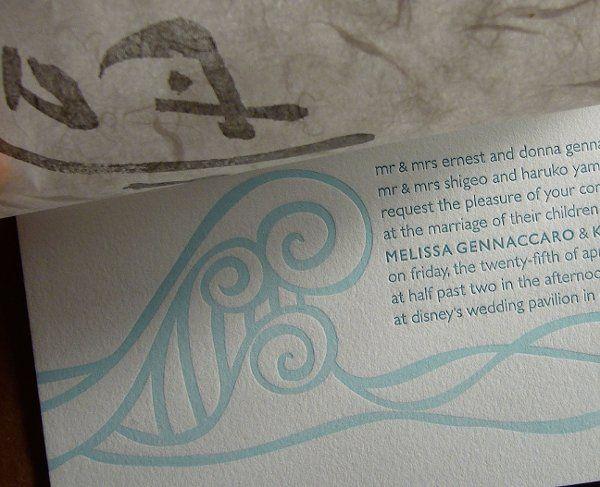 Tmx 1229782135310 Genneccaro Hr Evanston wedding invitation