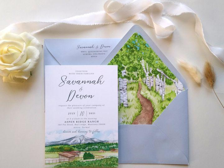 Tmx Img 20210119 143428624 Skewed Address 51 999280 161119745427614 Denver, CO wedding invitation