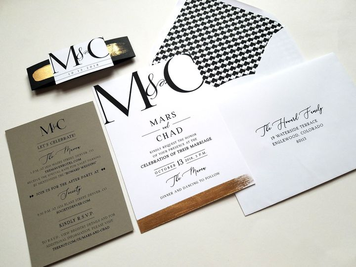Tmx Marschad Suite 130333 51 999280 159349052010747 Denver, CO wedding invitation
