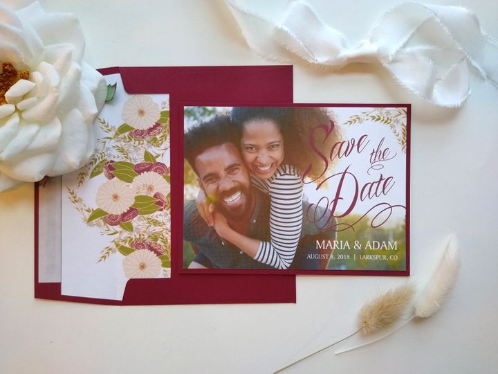 Tmx Rusticfloral 191940762 51 999280 159349051881824 Denver, CO wedding invitation