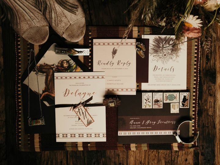 Tmx Styledshoot 42 51 999280 160443765720118 Denver, CO wedding invitation