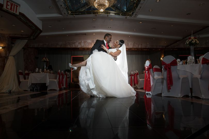 Lovely bride and groom