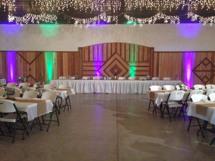 Reception Area W/ Uplighting