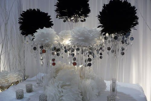 weddingdecorationsfeatherballs