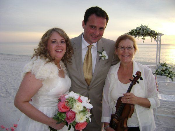 Newlyweds and the violinist