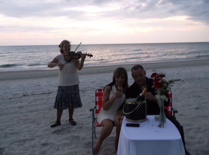 String music for an engagement