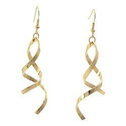 These graceful earrings make a stunning gift for bridesmaids and are available in gold or silver...