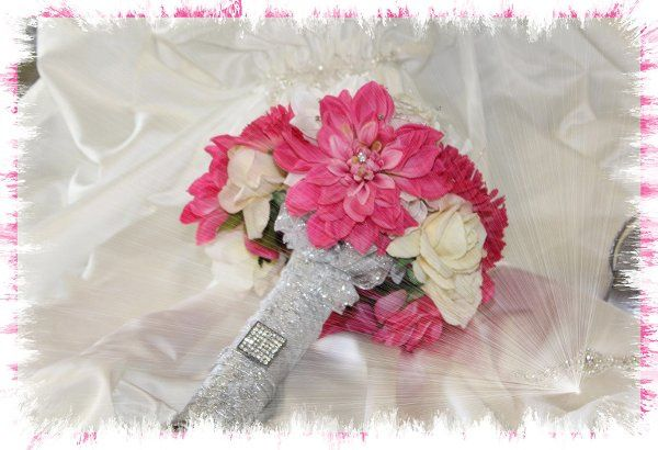 Realistic Faux Flowers by Classical Chic Event Designer