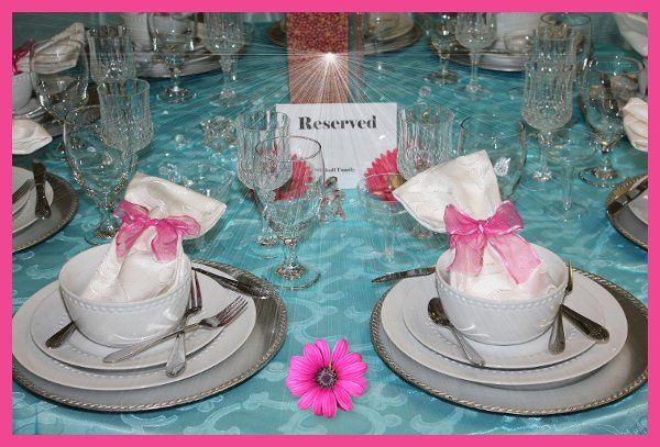 Rentals and florals by Classical Chic Events