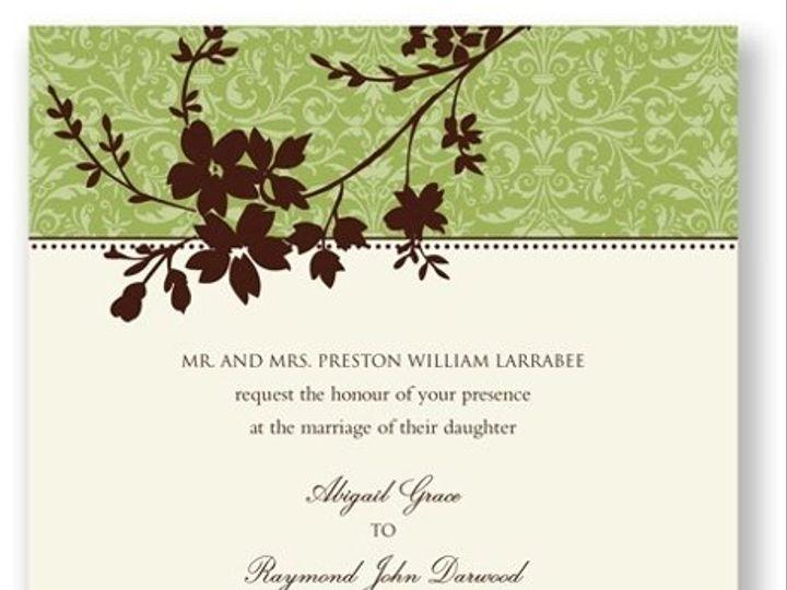 Tmx 1297976372614 Wa667146413a Apex wedding invitation