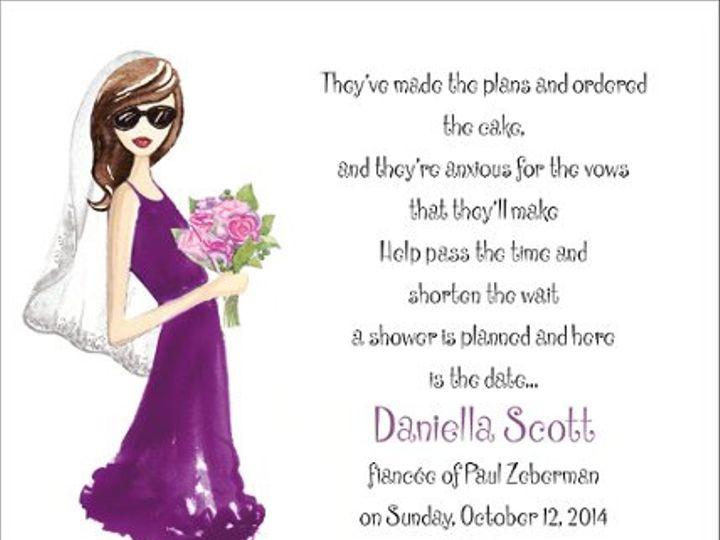 Tmx 1337884928824 FBBIW Apex wedding invitation