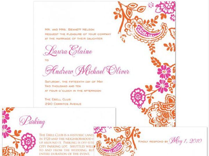 Tmx 1338411527348 P1312ensemblewhite Apex wedding invitation