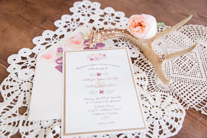 White and pink motif