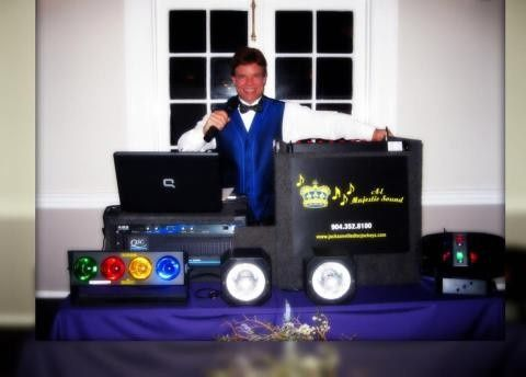DJ and booth