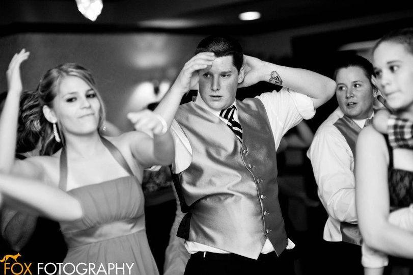 Line dancing fun!