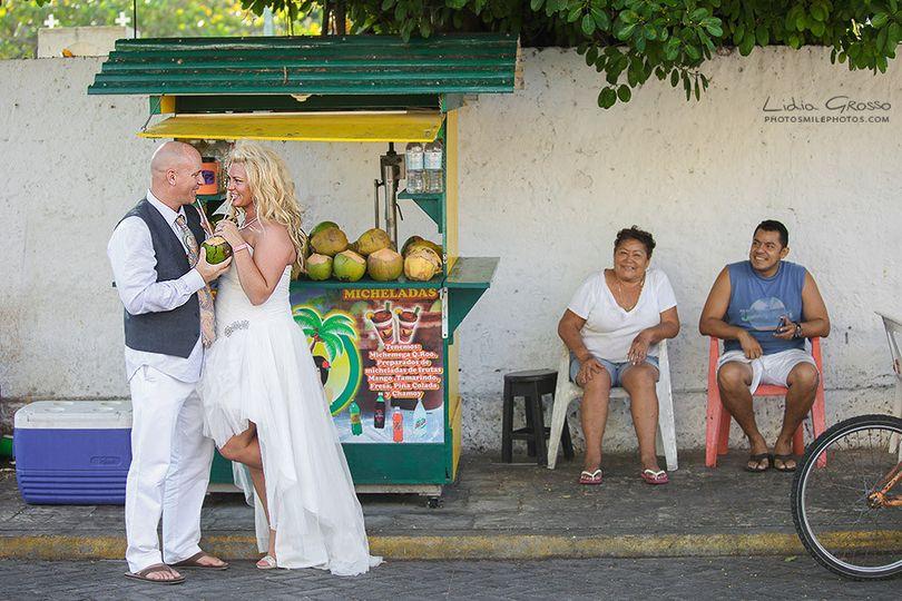 chrissy jeremy wedding photography isla mujeres