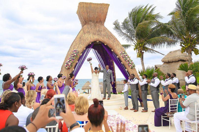 Dreams Riviera Cancun Gazebo