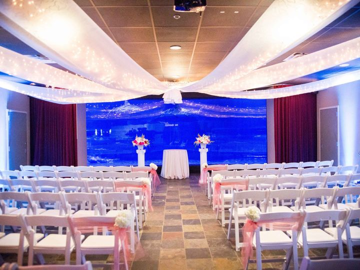 Tmx 1506534076631 Shark Ceremony 1 Jenks, Oklahoma wedding venue