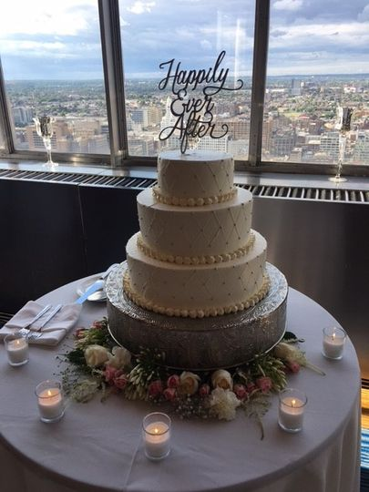 Loews Wedding Cake