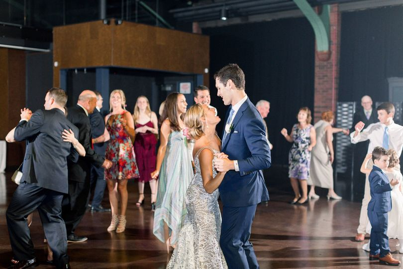 Newlyweds dancing | Tiffaney Childs Photography