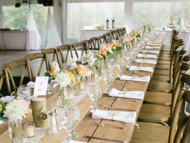 Tmx 1505860755230 Farm Table With Xback Chairs Silverthorne, Colorado wedding rental