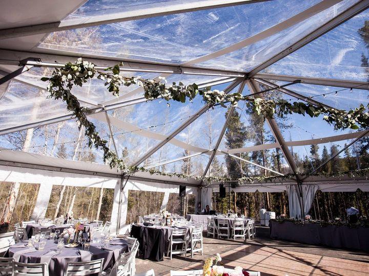 Tmx 1513186595245 Clear Top Round Tables White Garden Chair Parquet Silverthorne, Colorado wedding rental
