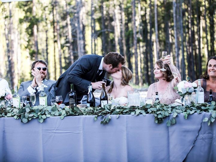 Tmx 1513186657156 Side Walls Pulled Outdoor Head Table Silverthorne, Colorado wedding rental