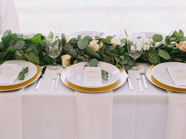 Tmx 1513187288180 Gold Charger Deco Silverware Napa Water Silverthorne, Colorado wedding rental